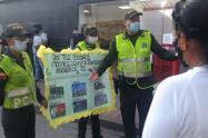 Policía realizó capturas, incautación de armas blancas, estupefacientes y recuperación de celulares en El Espinal