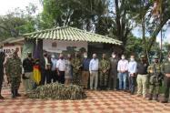 Sexta Brigada del Ejército entregó balance al Gremio Empresarial del Tolima