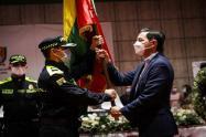 Alcalde Hurtado y cambio de coroneles de la Policía