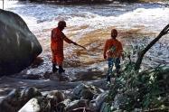 Hallaron a Wilson Amado, hombre ahogado en el río Ambeima de Chaparral
