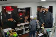 Sujetos armados atracaron en el restaurante Líbano Comida Árabe del barrio Cádiz en Ibagué