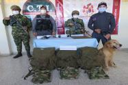 Ubican material de guerra de alias 'La Negra' cabecilla de disidencias de las Farc en el Tolima