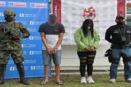 Tras la rejas pareja involucrada en tres sicariatos y un intento de homicidio al norte del Tolima