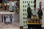 111 kilos de estupefacientes incautados en carreteras del Huila