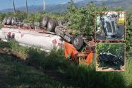 ¡Violento choque! Dos lesionados dejó accidente múltiple en Lérida