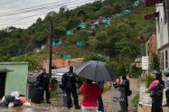 Se adelanta operativo de desalojo en invasión entre La Gaviota y Cañaveral