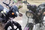 ¡El colmo! Se robaron dos motos en Fuente Santa del Salado y ni la Sijín ni la Fiscalía toman la investigación