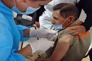 Vacunación en la cárcel de Picaleña