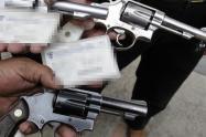 ¡Qué belleza! Le hallaron a menor de 14 años, dos armas de fuego en la 41 con Guabinal
