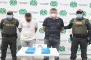 Sorprendieron dos sujetos en un taxi con 40 mil dosis de clorhidrato de coca