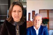 MinComercio, Maria Ximena Lombana y presidente Fenalco, Jaime Alberto Cabal