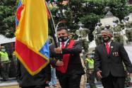 Celebraron el Día del Veterano en la Plaza Murillo Toro de Ibagué