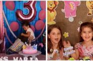 Niñas virales que se 'mechonean' en cumpleaños