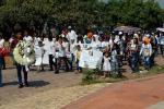 Familias de Ex combatientes y habitantes de Manaure Cesar acompañaron al bebé a su última morada