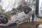 El vehículo venía de Bogotá