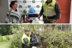 Las autoridades investigan este nuevo acto delincuencial