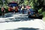 Accidente vía Juntas