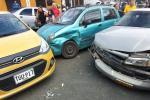 Accidente múltiple en Ibagué