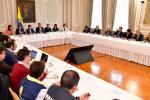 Reunión entre presidente Iván Duque y gremios económicos