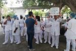 Protesta médicos en Cartagena