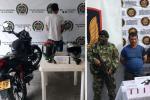 arma de fuego en el Tolima