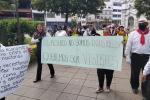 Protesta de meseros en Ibagué