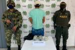 Incautan marihuana y capturan microtraficante en el sur del Tolima.