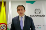 Registrador Nacional, Alexander Vega
