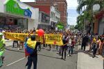 Marchas en Ibagué