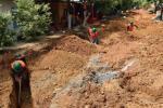Debido a las constantes fallas en el sistema de alcantarillado sanitario en el municipio del Pital, gobierno local pone fin a la problemática