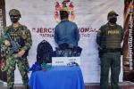 Capturado por el Ejército en la vía Venadillo - Santa Isabel