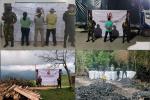 Incautaron madera y carbón sin los permisos para su comercialización en Armero, Líbano y Venadillo