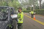 Listos 190 policías de Tránsito para prestar seguridad en las vías en este puente festivo