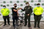 Recuperaron bicliceta robada en la ciclo-ruta del Parque Deportivo