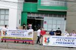 Una de las situaciones de persecución sindical se estaría presentando con el Presidente de la subdirectiva Sunet Melgar Jaime Cardona