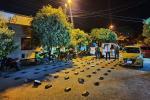 Se movilizaba en taxi con 40 kilos de marihuana por El Espinal