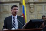 Ricardo Ferro, quien aparece en la gráfica de los representantes a la Cámara más destacados en la última legislatura