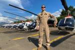 """""""Una profesión entre el aire y el mar"""": Teniente de Navío, Helmer González"""