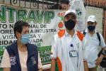 Protestan frente a la empresa Atlas por despidos injustificados