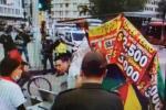 Denuncian supuesto abuso policial hacia vendedor informal
