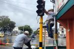 Arreglo de semáforo en Ibagué 2021