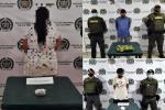 Arremetida contra la delincuencia en Mariquita dejó cuatro capturas