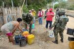 Ejército entregó 50 mil litros de agua a comunidades indígenas de Coyaima