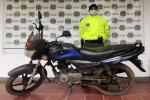 Sijín de la Policía Tolima recuperó motocicleta en Lérida, al norte del Tolima