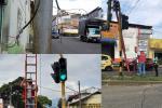 Robos de cables de semáforos Ibagué 2021
