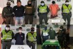 Capturaron cuatro reconocidos expendedores de alucinógenos en Ibagué