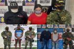 Capturados extorsionistas del GAO-r del Comando Conjunto Central Adán Izquierdo