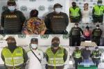 Cuatro capturados con más de 8 mil dosis entre marihuana y bazuco en las comunas 1, 2 y 11 de Ibagué