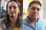 César Franco y Linda Perdomo, concejales de Ibagué  2021