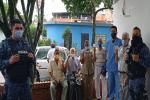 Vacunaron contra el Covid 19 a cinco adultos mayores en el COIBA de Picaleña